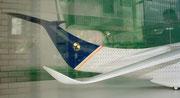 1978 Von Colani patentierte Flugzeug-Tragflügel-Wings, die bis zu 10% Treibstoff einsparen