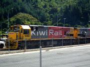 Die moderne Schwester des Dampf-Nostalgiezuges: Dieselloks der «Kiwi Rail»