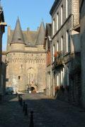 Das Château war Teil der Befestigungsmauer von Vitré