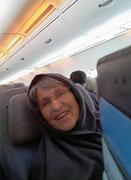 Schutz 🙂 gegen die «böse» Klimaanlage im Flugzeug