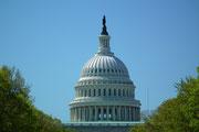 Die mehrstöckige Kuppel des Capitol