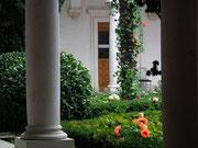 Blick in den Innenhof des Livadia-Palastes