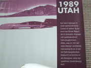 """1989 Plakat aus der Nancy-Halle über die grossen """"Automorrow-Days"""""""