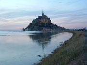. . . und bieten ein ganz anderes Bild des Mont Saint Michel