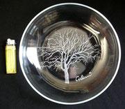 1968 Glasschale Baum für RITZENHOFF