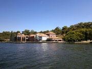 bevor wir die ersten schönen Wohnüberbauungen am Ufer sehen