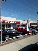 Autohaus mit der australischen Marke «Holden», einer Tochter von General Motors USA