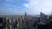 Abendliche Fotopirsch auf dem Aussichtsdeck des Rockefeller Centres