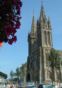 Die Kathedrale von Saint Pol-de-Léon . . .