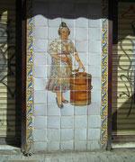 Im 14. Jahrhundert war Valencia für seine, von Hand bemalenen, Azulejos berühmt