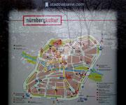 Nürnberg das Zentrum Nordbayern, bzw. Franken