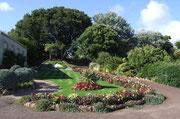 mit bunter Vegetation in schönen Parks.