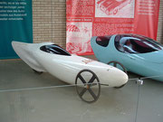 1988 Einsitzer-Dreirad für den Innenstadtverkehr