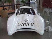 BMW-Weltrekord-Modell für die Rekord-Days auf dem Salzsee in Utah