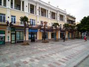 Die Promenade und Flaniermeile am Hafen von Jalta