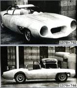 1954 - Erste Kunststoff-Carrosserie durch Luigi Colani für SIMCA