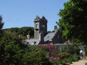 Das politische Oberhaupt der Insel - der Seigneur -  wohnt und residiert in diesem Haus