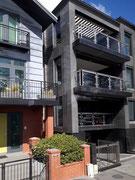 Moderne Glas und Stahl-Fassaden
