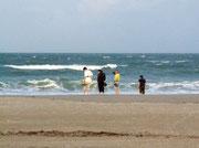 . . . und wir das Meer in Cocoa Beach . . .