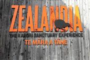 Eingang zum «Neuseeland Schutzgebiet»