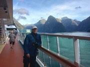 Da aber die Wind- und Wetterverhältnisse in den Fjords stetig ändern . . .