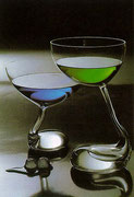 1980 Cocktail-Gläser-Serie für RITZENHOFF Crystal