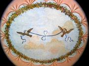 Trotz dieser Deckenmalerei wurde Napoleon nie von seiner ihm verbundenen «Taube», auf Elba besucht