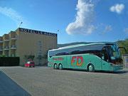 Nochmals ein bisschen Werbung für das Busunternehmen Franz Dähler
