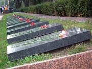 Grab- und Erinnerungstafeln an die «grossen Söhne» der Ukraine