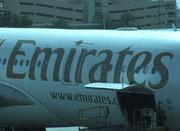 Mit der Emirates Air gehts «leider» wieder zurück in die Heimat