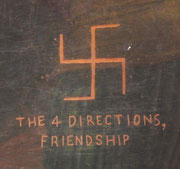 Das ist das Symbol für 4-Wege-Freundschaft