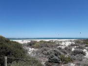 Rückfahrt entlang der Küste mit den wunderschönen, weißen Sandstränden