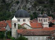 Blick über die Dächer der Altstadt von Kotor