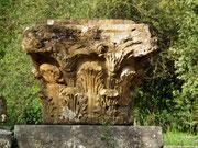 Blick auf ein Säulenkopf-Detail