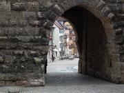 Oberes Eingangstor ins Städtchen Rottweil (90 km südlich von Stuttgart)