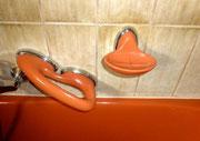 1980 Badezimmer-Serie COLANI Design - Badewanne Einstieggriff