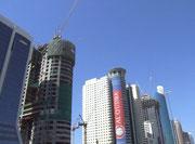 . . . auch sehr hohe Wolkenkratzer