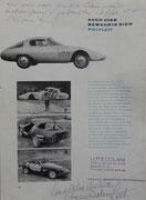 Beschrieb der Kunststoff-Carrosserie des  Alfa-Romeo Abarth