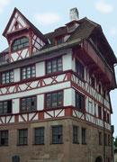 Das Albrecht-Dürer-Haus das der Künstler 1509 erwarb