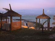 Abendlicher Abschied von der paradiesischen Insel Mauritius