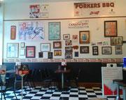 Und zum Schluss noch einen Besuch in einem typischen American Diner . . .