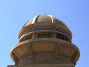 Wunderschöne Kuppel, die für das nötige Licht im Innern sorgt . . .