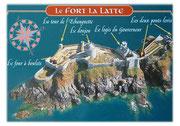 Wir fahren weiter zum Fort La Latte . . .