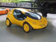 . . . in Leichtbauweise aufgebaut auf Citroën 2CV-Chassis