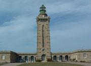 Und wieder eine Landspitze: Cap Fréhel mit dem mächtigen Leuchtturm