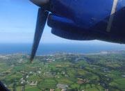 Wir verlassen Guernsey Richtung Schweiz  . . .