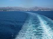 und fahren zu unseren Ausganghafen Venedig zurück. Schön war's !