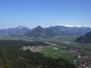 Blick ins Land Tirol