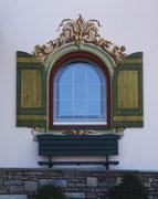 Hübsche Fensterumrandung