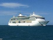 Die «Radiance of the Seas» aus der Flotte der «Royal Caribbean Cruises»